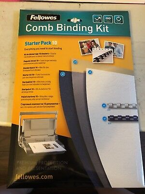 Fellowes Comb Binding Kit Starter Pack