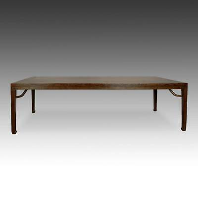 Antique Chinese Qing Dining Room Table Walnut Furniture Shanxi China 19Th C.