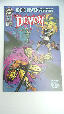 The Demon   -  Number 1  -  Annual ( 56 Pages ) -1990  - Canadian  -  Dc Comics