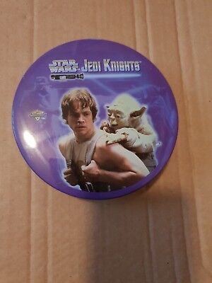 Star Wars jedi knights Metal Trading Cards With Collectable Tin