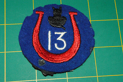 WW1 US Army 13th Infantry Division Patch Wool patch 12-091