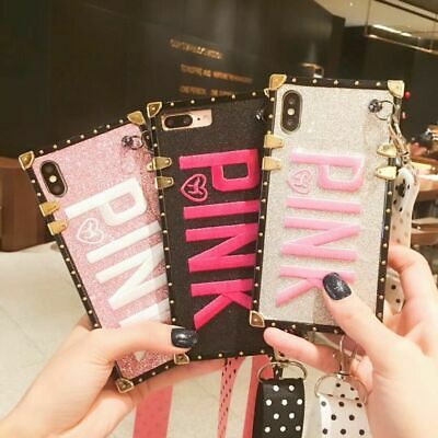 099ff0a73c374 PINK VICTORIA SECRET Full Cover Case for iPhone 6 6S 7 8 plus X XS max XR