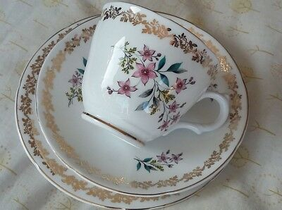 Vintage Royal grafton star flower trio tea cup. Nice gift/special tea