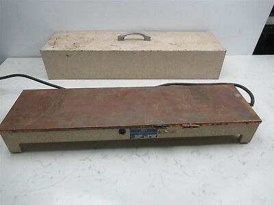 Vintage Chicago Surgical and Electrical Co. 26000 Lab Slide Warmer Copper Top