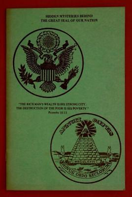 Hidden Mysteries Behind The Great Seal of Our Nation by Bauer Kenosha WI C31D