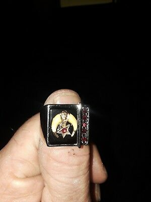 Replica Masonic shriner ring