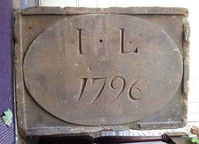 Late 18th Century Date Stone - Stunning Feature For Building Or Garden Project