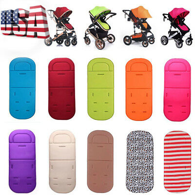 Baby Toddler Pushchair Car Seat Padding Pram Liner Pad Cushion Washable Stroller