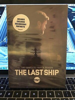 The Last Ship: The Complete Fourth Season 4 (DVD,3-Disc Set) New-Free shipping