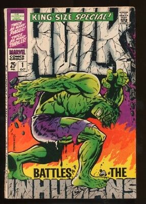 Incredible Hulk (1968 series) Special #1 in VG minus cond. Marvel comics [*1g]