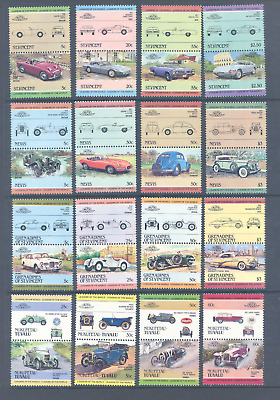 Leaders Of The World Cars Selection Of Sets Very Fine Mnh