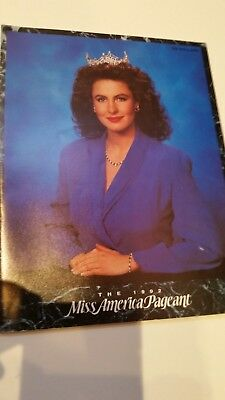 1992 Miss America Pageant Program Book