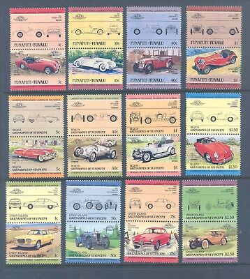 Leaders Of The World Cars Selection Of Sets Very Fine Mnh.