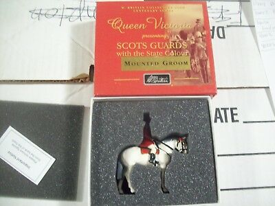 Britains 40205 Scots Guards Mounted Groom