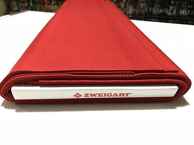 14ct - 14 count Zweigart Christmas Red Aida Cloth - Assorted pre-cut sizes only