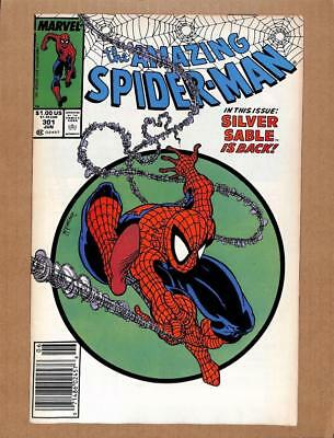 Amazing Spider-Man # 301 - NEAR MINT 9.4 NM - Avengers! MARVEL Comics