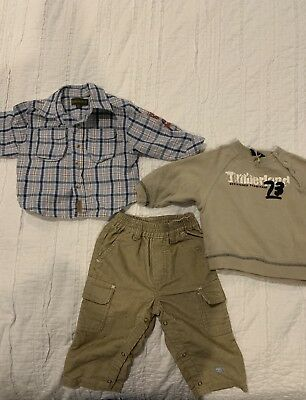 baby boy clothes 6-9 months winter-Timberland