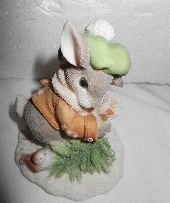 """Darling MY BLUSHING BUNNIES """"wintertime blessings"""" 178616 FREE SHIPPING"""