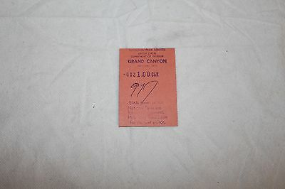 grand canyon ticket 1959