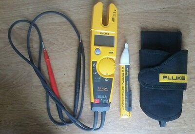 Fluke T5-1000 Voltage, Continuity and Current Tester (1000V)&Fluke VoltAlert