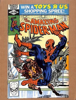 Amazing Spider-Man # 209 - NEAR MINT 9.4 NM - Avengers MARVEL Comics