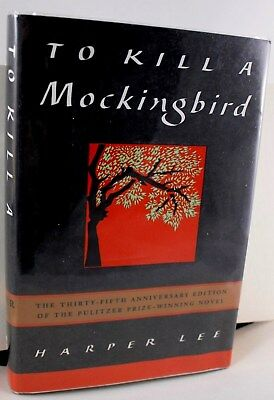 To Kill A Mockingbird SIGNED By HARPER LEE 35th Anniversary Edition COA