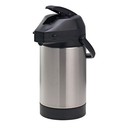 SVAP Commercial Coffee Air Pot Vacuum Insulated 3.0L 4–6 hour Heat Retention