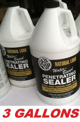 "Glaze 'N Seal Clear ""Natural Look"" Penetrating Sealer Multi-Surface (3 Gallons)"