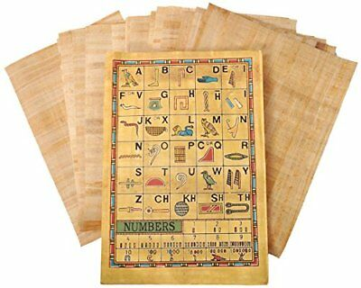 "Wholesale 50 Plain/Blank Egyptian Papyrus 12""x16""A3 for Art Projects(AU STOCK)"