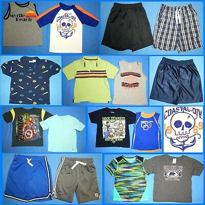16 Piece Lot of Nice Clean Boys Size 5t 5 Spring Summer Everyday Clothes ss332