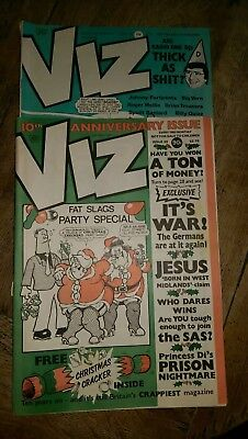 Viz Comic No 39 10th ANNIVERSARY ISSUE + Issue 38 ORIGINAL & GENUINE Adults only