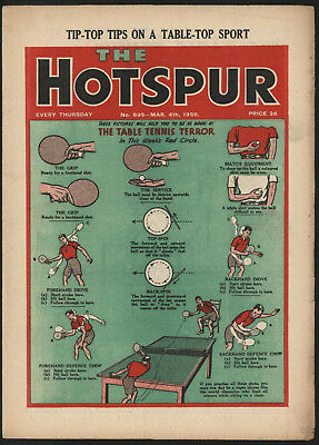 Hotspur #695, March 4Th 1950. From An Exceptional Private Collection