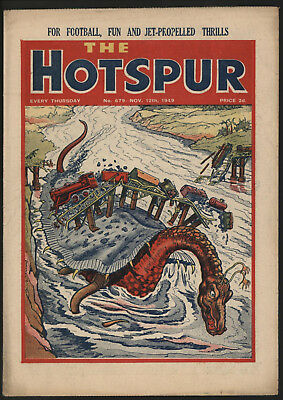 Hotspur #679 Nov 12Th 1949. From An Exceptional Private Collection
