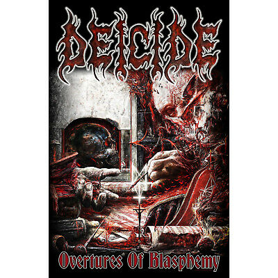 Deicide Flagge Fahne Posterflagge Overtures Of Blasphemy