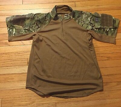 British MTP/Multicam Combat Shirt, Size Large, Short Sleeve