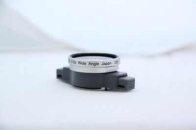 New Tama conversion lens snap-on 0.5 X wide angle lens