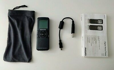 Philips Digital Voice Tracer Recorder Dictaphone LFH0862