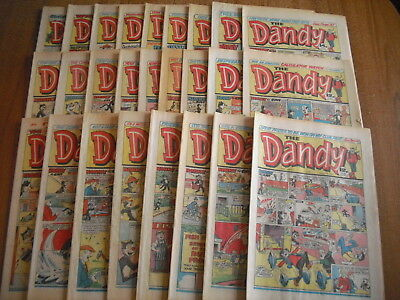 26 x DANDY COMICS - ALL FROM 1984