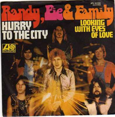 "Randy Pie & Family- Hurry To The City/ Looking With Eyes Of Love, 7""Vinyl Single"