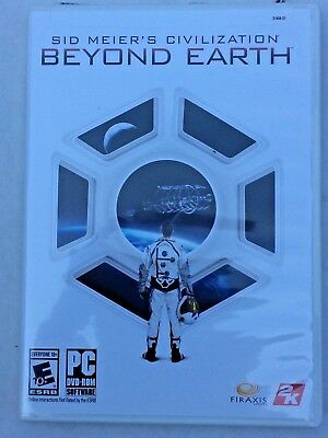 Sid Meier Civilization Beyond Earth Game DVD For PC A New Beginning for Mankind