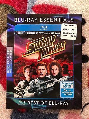 Starship Troopers Blu-ray Brand New and Sealed! (2008) w/Essentials SlipCover