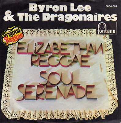 "Byron Lee & The Dragonaires- Elizabethan Reggae/ Soul Serenade, 7"" Vinyl Single"