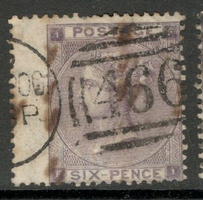 Queen Victoria - SG 83 - 6d. - Lilac- Used (£100.00)