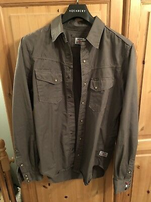BARBOUR INTERNATIONAL STEVE McQUEEN COLLECTION MENS LONG SLEEVED SHIRT STUNNING!