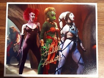 Star Wars photograph signed by Celia Fushille