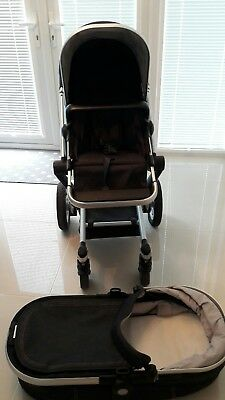 Hedendaags JOOLZ DAY PRAM and Pushchair, Footmuff and Change Bag Denim RRP RA-14