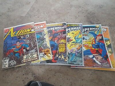 Action comics superman 43 comics VFN bagged and Boarded