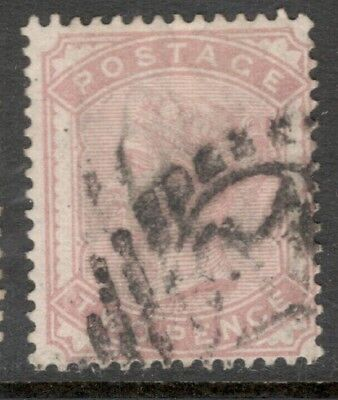 Queen Victoria - SG 167- 2d. - Rose - Used (£80.00) Good