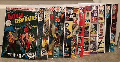 The Brave And The Bold 94 issue lot DC Batman