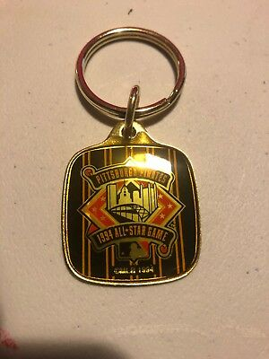 Beautiful Pittsburgh Pirates 1994 All-Star Game keyring, PNC Park, brand new!